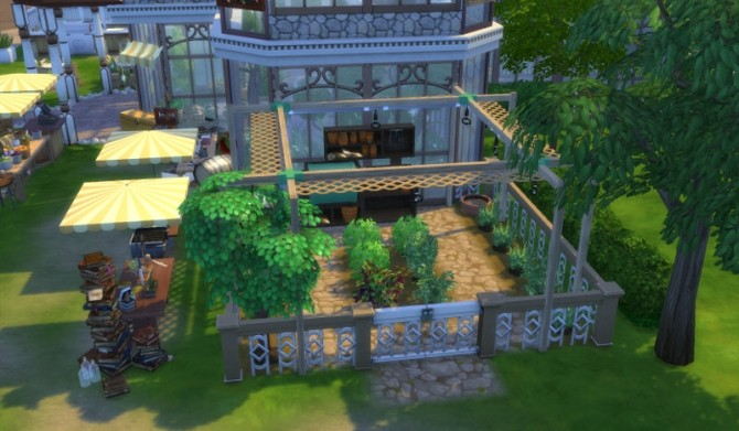 Greenhouse set part 1 at leander belgraves sims 4 updates for Indoor gardening sims 4