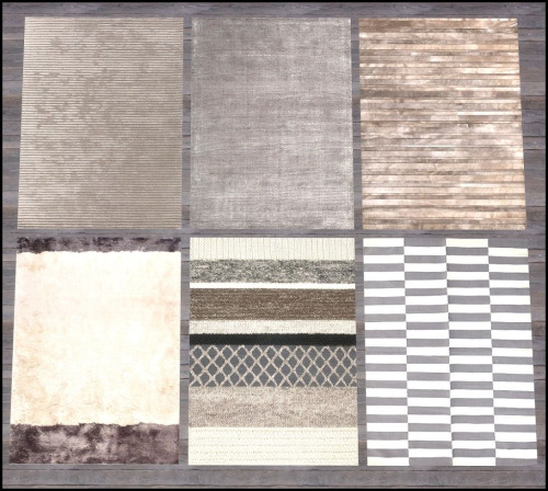 Nature's palette paintings + rug collection 5 at Hvikis image 14015 Sims 4 Updates