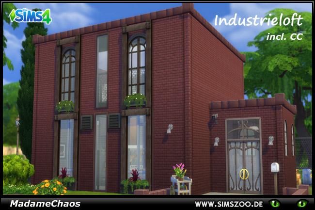 Industrial loft by MadameChaos at Blacky's Sims Zoo image 14018 Sims 4 Updates