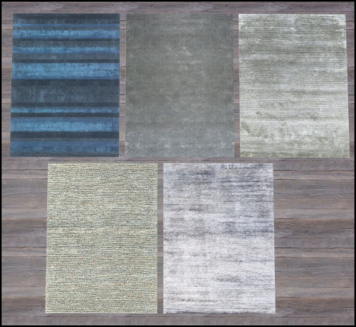 Nature's palette paintings + rug collection 5 at Hvikis image 14121 Sims 4 Updates