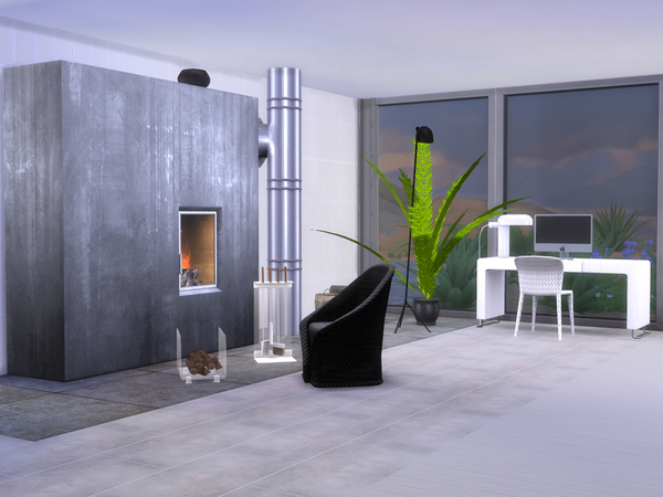 Bedroom Minimalist by ShinoKCR at TSR image 1416 Sims 4 Updates