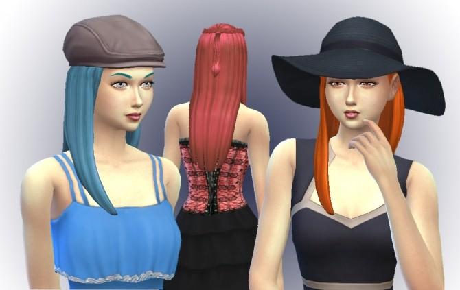 Sims 4 Dahlia Hawthorne Hair at My Stuff