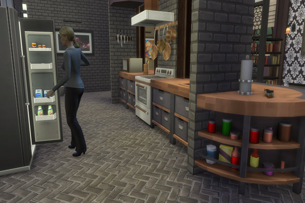 Industrial loft by MadameChaos at Blacky's Sims Zoo image 14419 Sims 4 Updates