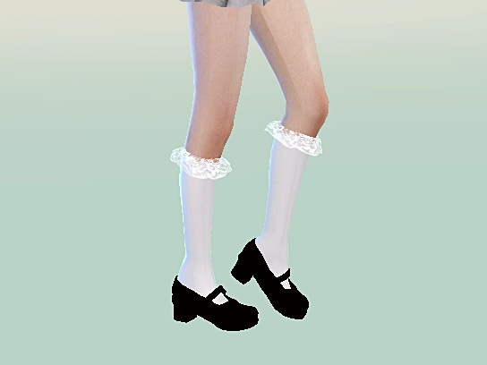 Mary Jane Shoes Solid Colors At Marigold 187 Sims 4 Updates