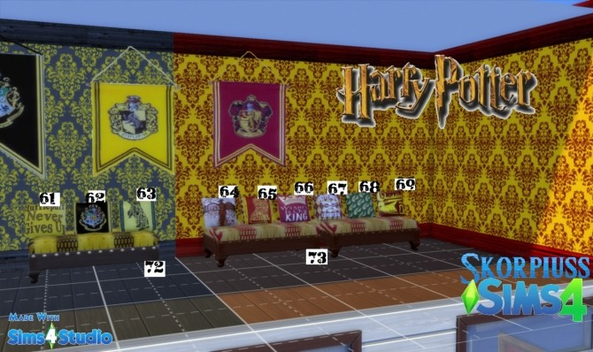 Harry Potter/Hogwarts stuff at Skorpiusss4 image 145 670x398 Sims 4 Updates