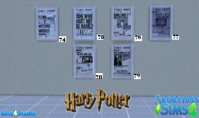 Harry Potter/Hogwarts stuff at Skorpiusss4 image 146 670x398 Sims 4 Updates