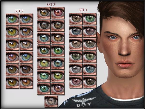 Sims 4 Eye Sets PATCH UPDATE by ShojoAngel at TSR
