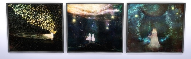 Sims 4 In stars paintings at Tukete