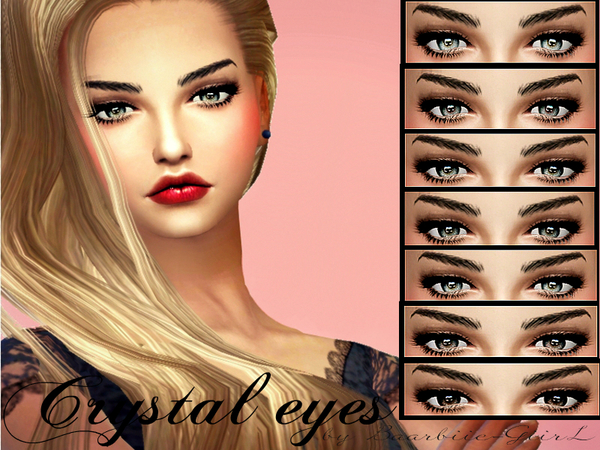 Crystal Eyes By Baarbiie Giirl At Tsr 187 Sims 4 Updates