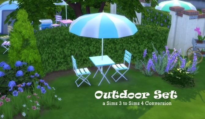 Outdoor Set at Leander Belgraves image 1511 670x391 Sims 4 Updates