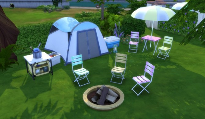 Sims 4 Outdoor Set at Leander Belgraves