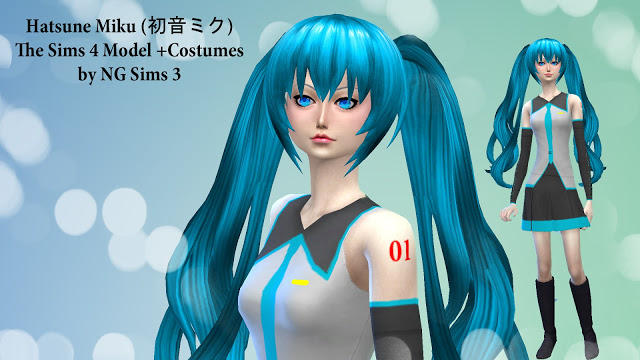 Hatsune Miku At Ng Sims3 187 Sims 4 Updates
