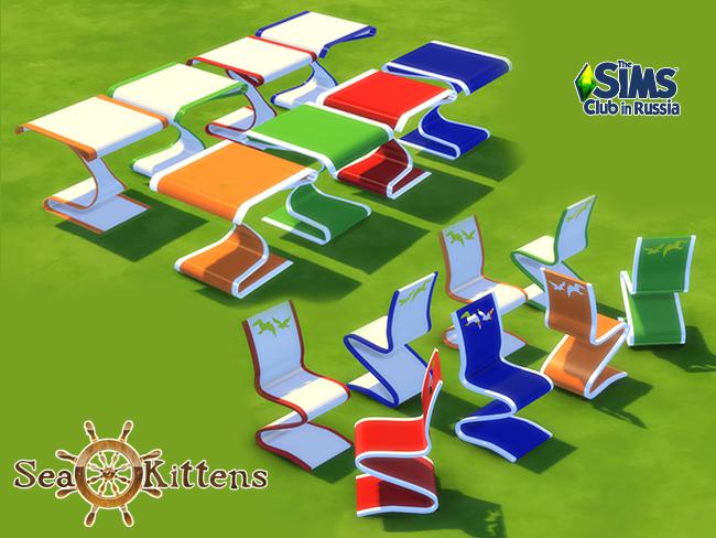 Sims 4 Sea Kittens   Children's holiday set at Maruska Geo