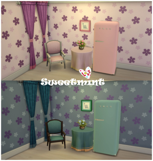 SMEG Fridge at Sweetmint Sims4 image 1573 Sims 4 Updates
