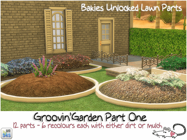 Sims 4 Groovin garden part one at Loverat Sims4