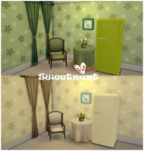 SMEG Fridge at Sweetmint Sims4 image 1582 Sims 4 Updates