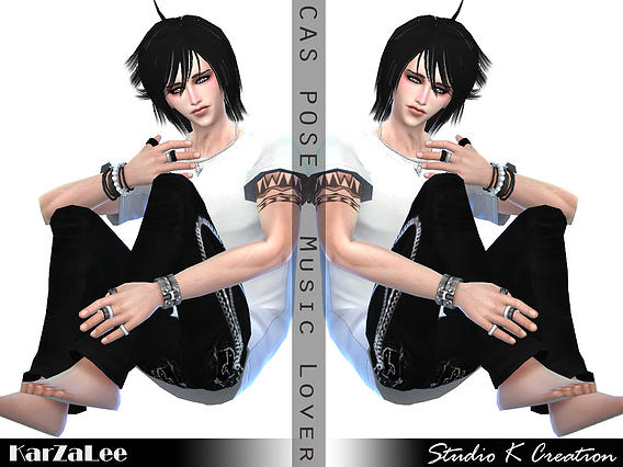 CAS pose replacement MusicLover at Studio K Creation image 15923 Sims 4 Updates