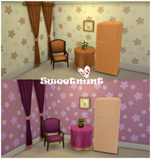 SMEG Fridge at Sweetmint Sims4 image 1593 Sims 4 Updates