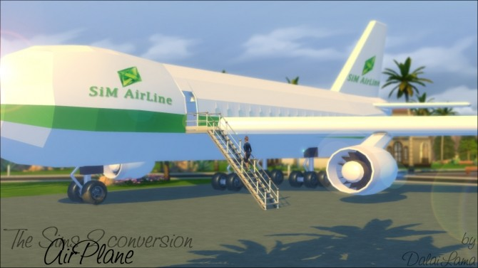 AirPlane by DalaiLama at The Sims Lover image 160 670x377 Sims 4 Updates