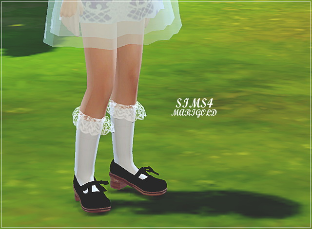 Child Lace Socks At Marigold 187 Sims 4 Updates