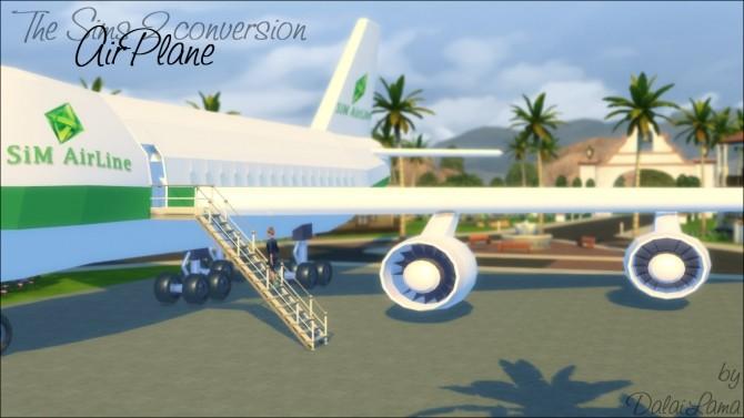 Sims 4 AirPlane by DalaiLama at The Sims Lover