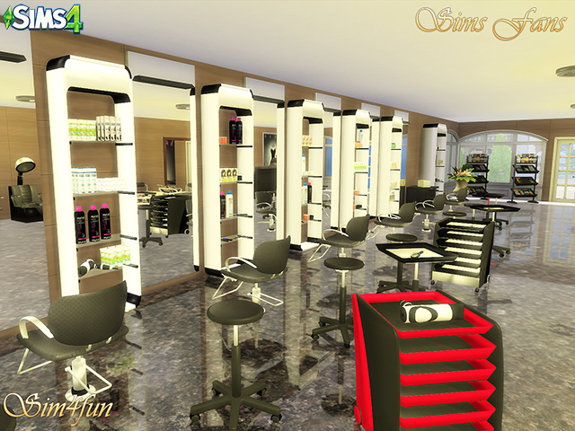 Beauty Salon by Sim4fun at Sims Fans image 16118 Sims 4 Updates
