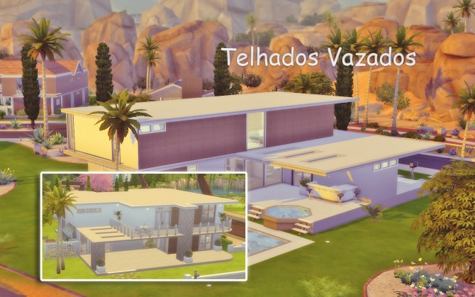 Sims 4 Roofs Hole Tutorial at Via Sims