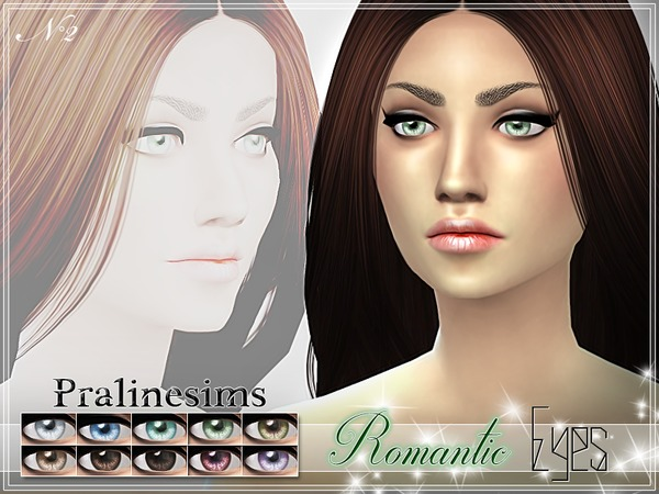 Romantic Eyes by Pralinesims at TSR image 1617 Sims 4 Updates
