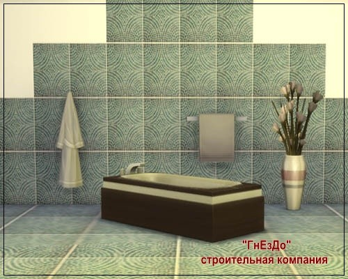 Cascade ceramic tile at Sims by Mulena image 1618 Sims 4 Updates