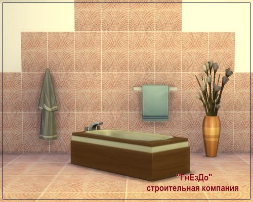 Cascade ceramic tile at Sims by Mulena image 1624 Sims 4 Updates