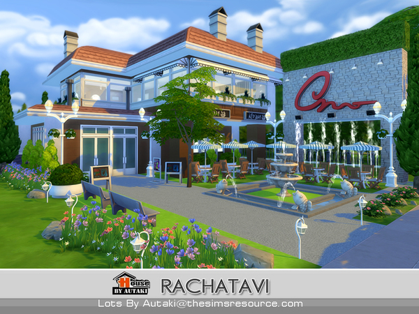 Rachatavi food shop by autaki at TSR image 16315 Sims 4 Updates