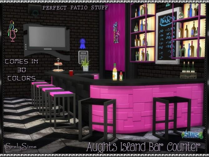 Sims 4 Aughts Island 'Bar' Counter at SrslySims