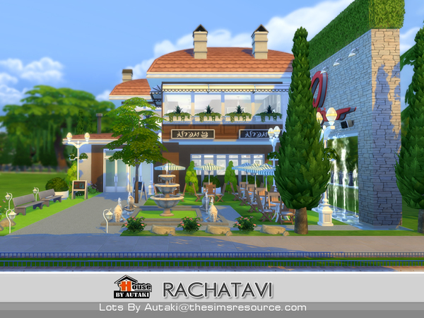 Rachatavi food shop by autaki at TSR image 16413 Sims 4 Updates