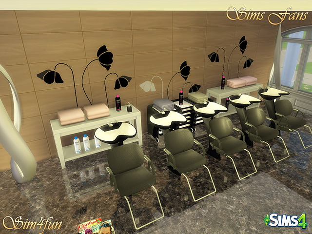 Beauty Salon by Sim4fun at Sims Fans image 16713 Sims 4 Updates