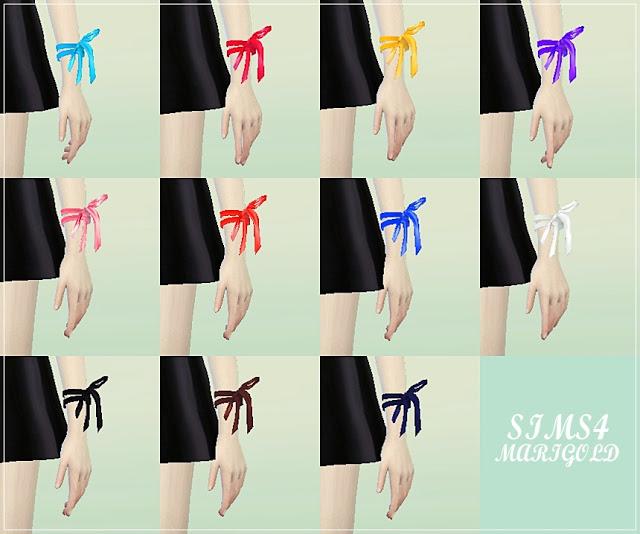 Sims 4 Ribbon set at Marigold