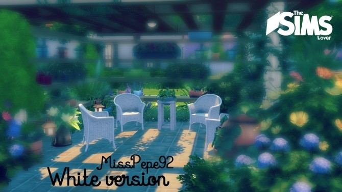 Sims 4 Vimini Set by MissPepe92 at The Sims Lover