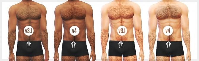 Sims 4 Body hair V4 at LumiaLover Sims