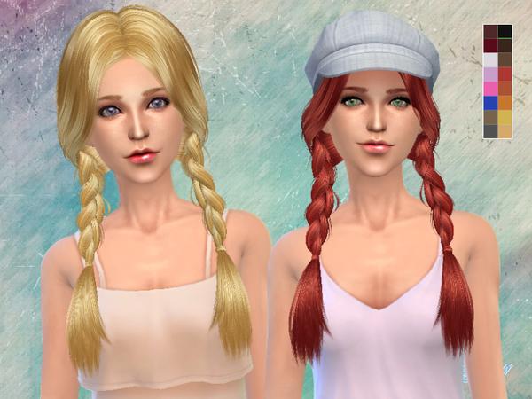 Sims 4 Hair k129 by Skysims at TSR