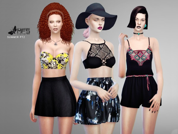 MFS Summer Set Part 2 by MissFortune at TSR image 17111 Sims 4 Updates
