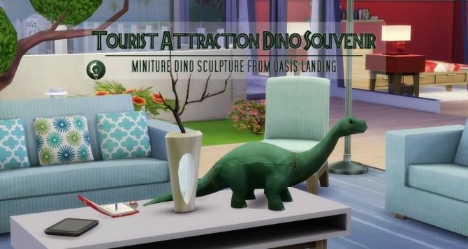 Sims 4 Miniature Dino Sculpture at Jorgha Haq