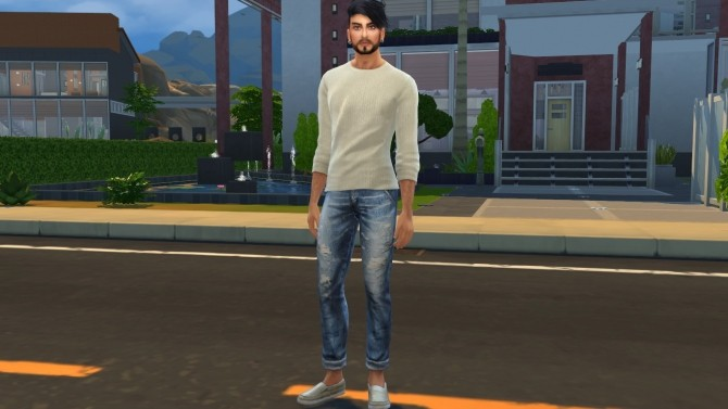Sims 4 Gustavo by Elena at Sims World by Denver