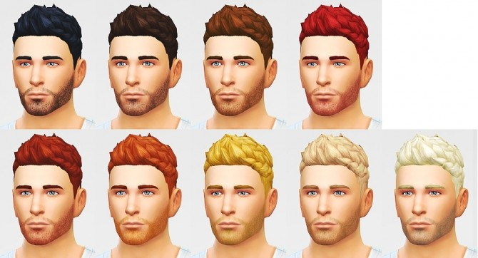 Sims 4 Slick stuff hair edit at LumiaLover Sims