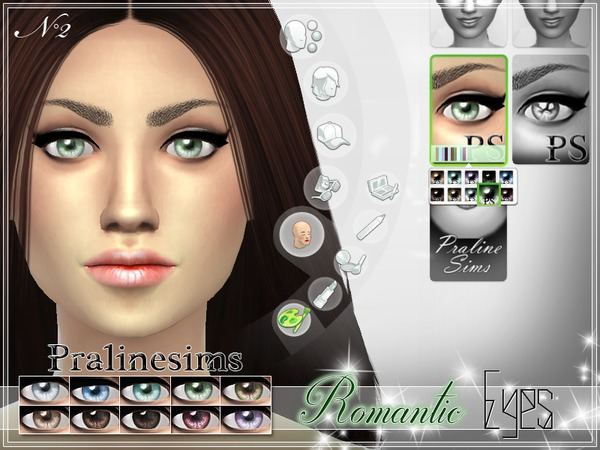 Romantic Eyes by Pralinesims at TSR image 1716 Sims 4 Updates