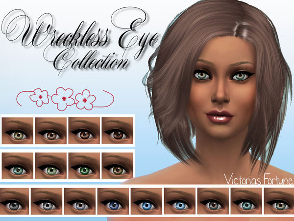 Sims 4 Wreckless Eye Collection by fortunecookie1 at TSR