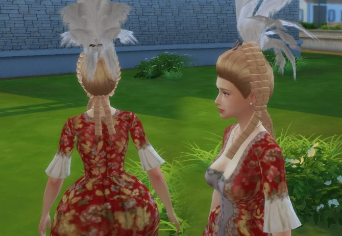Rococo Hair Conversion at My Stuff image 1722 670x462 Sims 4 Updates