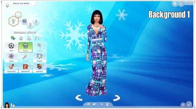 Sims 4 Blue CAS Backgrounds at Annett's Sims 4 Welt