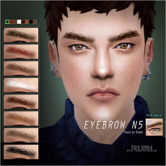 Sims 4 Eyebrows N5 at Tifa Sims