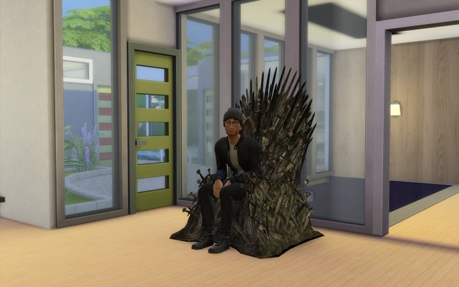 Sims 4 The Iron Throne by LOolyharb1 at Mod The Sims
