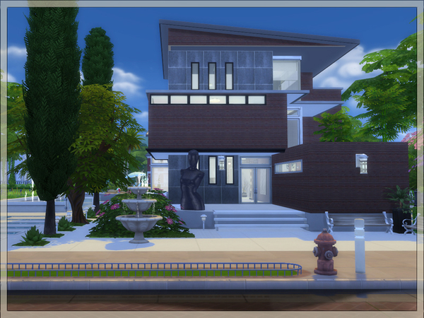 Azure blue sky house by Danuta720 at TSR image 1768 Sims 4 Updates