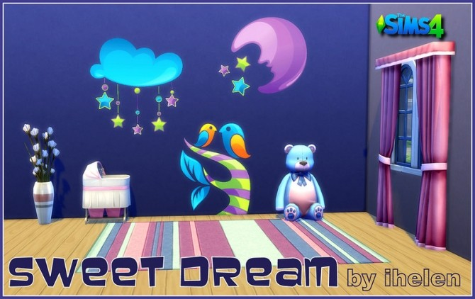 Sticker Sweet Dream at ihelensims image 1773 670x422 Sims 4 Updates